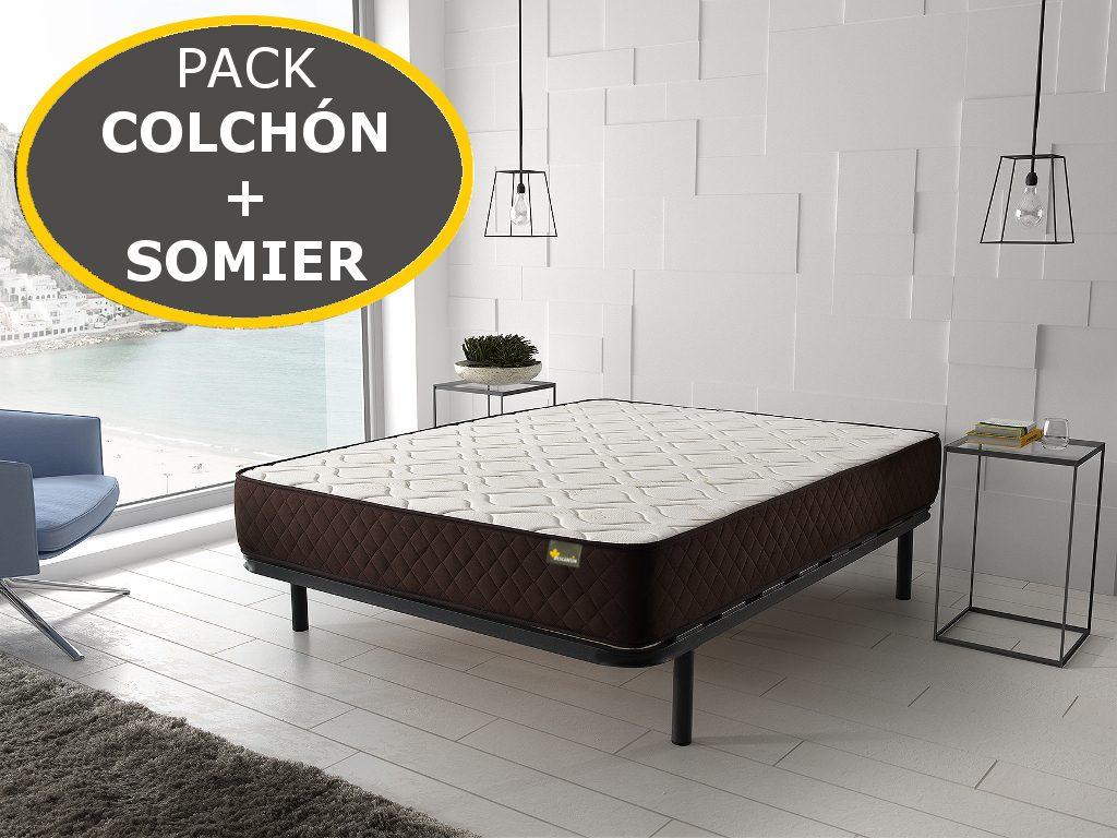 Oferta Somier Y Colchon 135.Pack Somier Y Colchon Oferta Somier Y Colchon Descansin