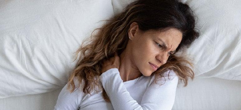 Dormir dolor cervical